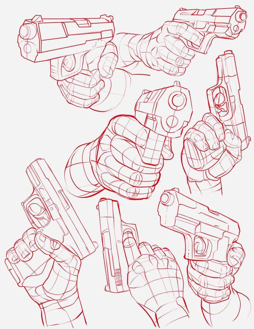 Body Kun & Body Chan - Figurines Manga Pour Artistes En 2020 intérieur Comment Dessiner Un Fusil