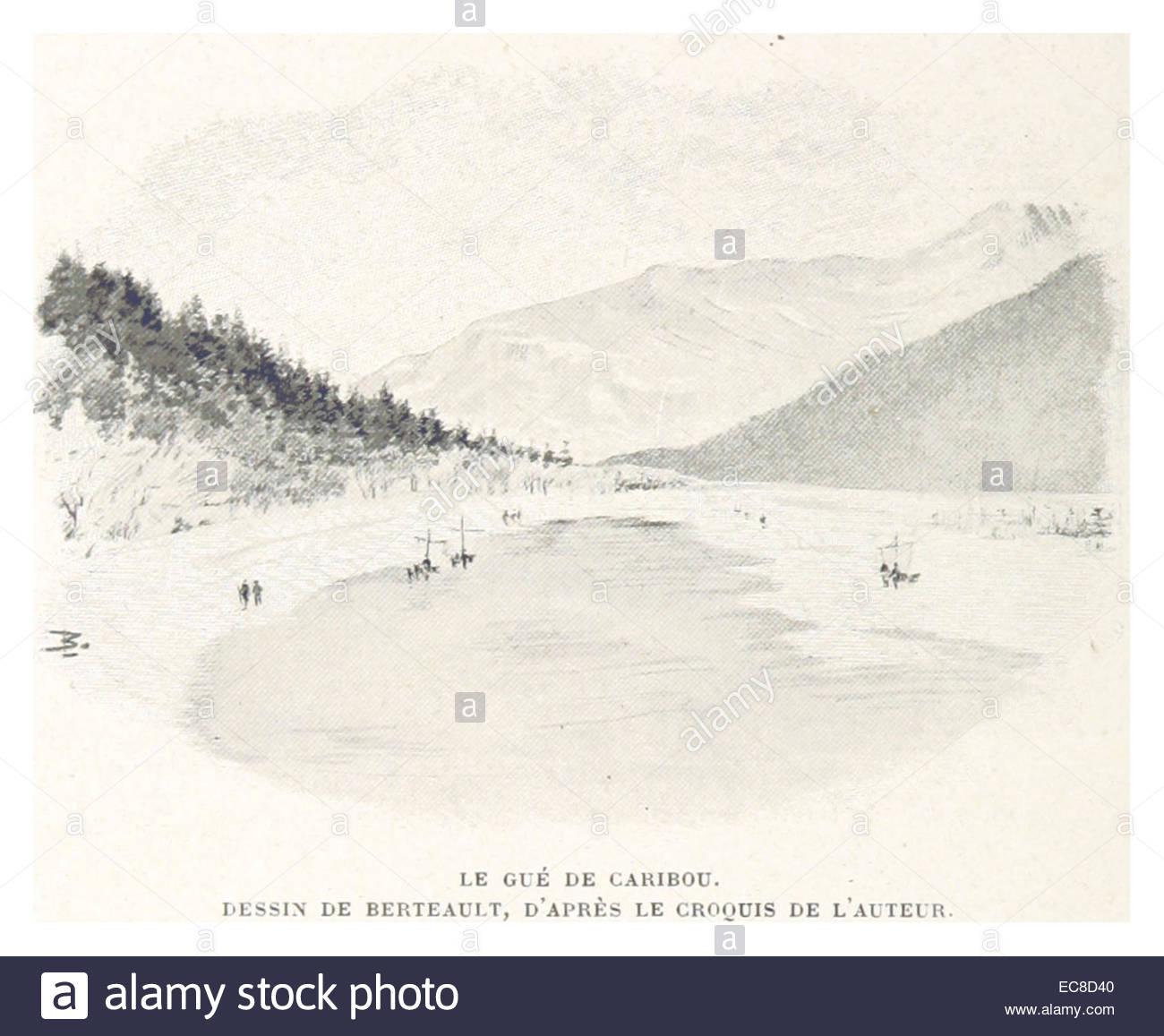Boillot(1899) P074 Le Guc389 De Caribou. Dessin De Berteault concernant Caribou Dessin