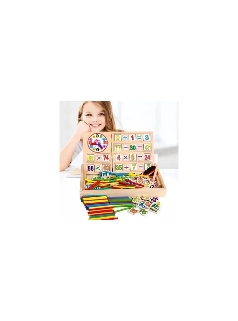 Boîte D'apprentissage Calcul Jeux Enfants - Jouet Éducatif intérieur Jeux Enfant Educatif