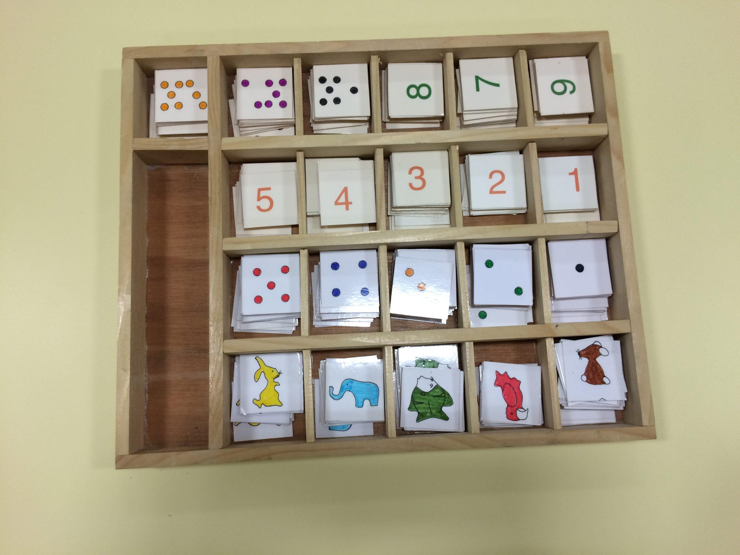 Boîtes À Compter - Des Ateliers Pour L'école Maternelle intérieur Apprendre A Compter Maternelle
