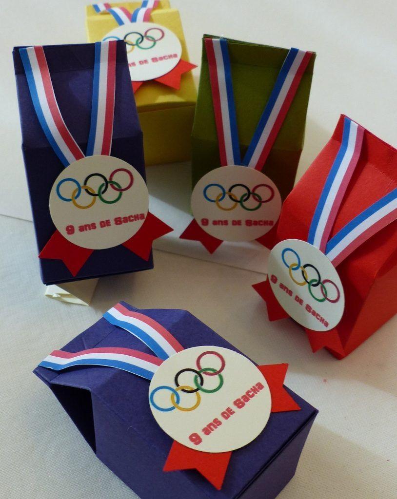 Boîtes De Bonbons Pour Anniversaire Olympique ! | Jeux avec Recherche De Jeux De Fille