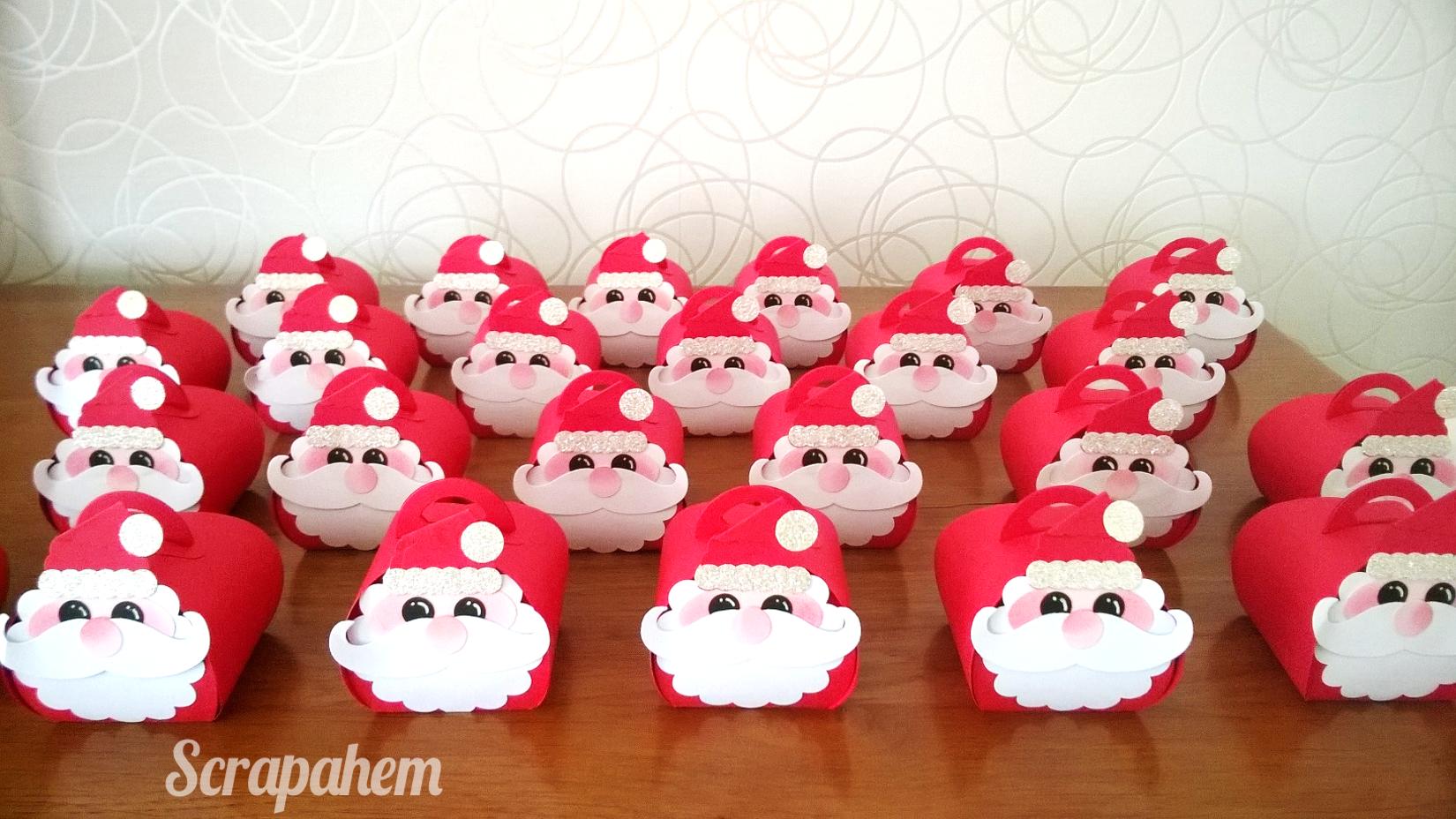 Boites Père Noël intérieur Boite De Noel A Imprimer