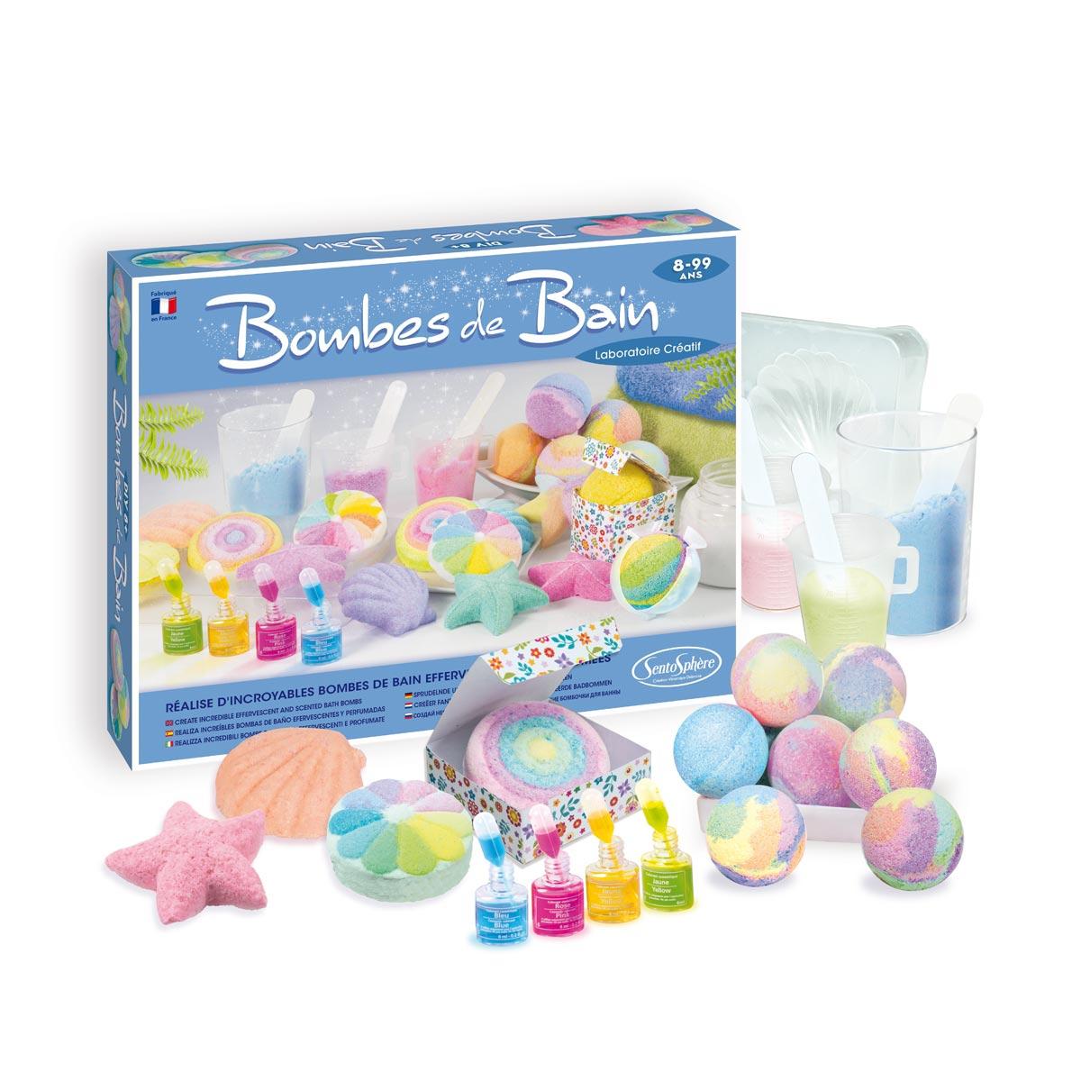 Bombes De Bain Laboratoire Créatif à Jeux De Fille 9 Ans