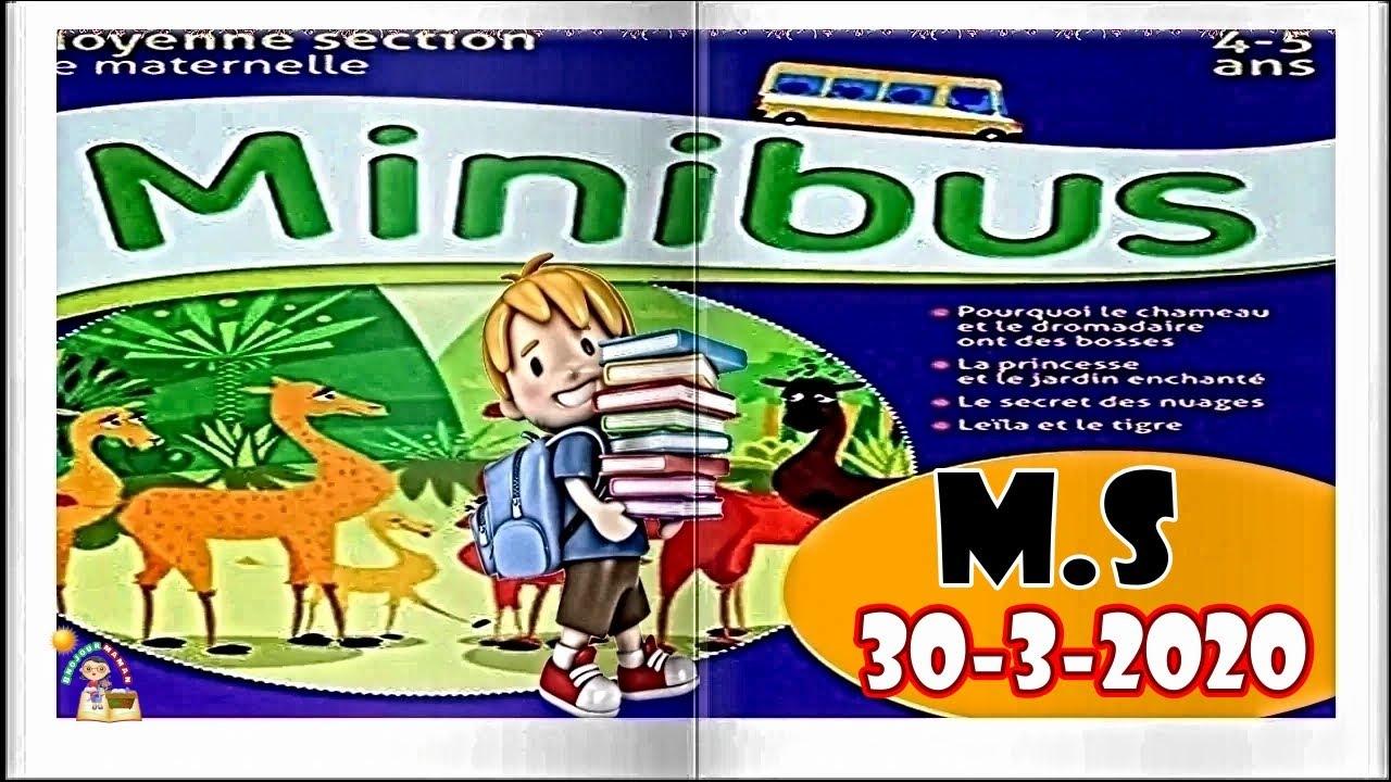 Bonjour Maman Minibus Moyenne Section De Maternelle 30 3 2020 destiné Revision Grande Section