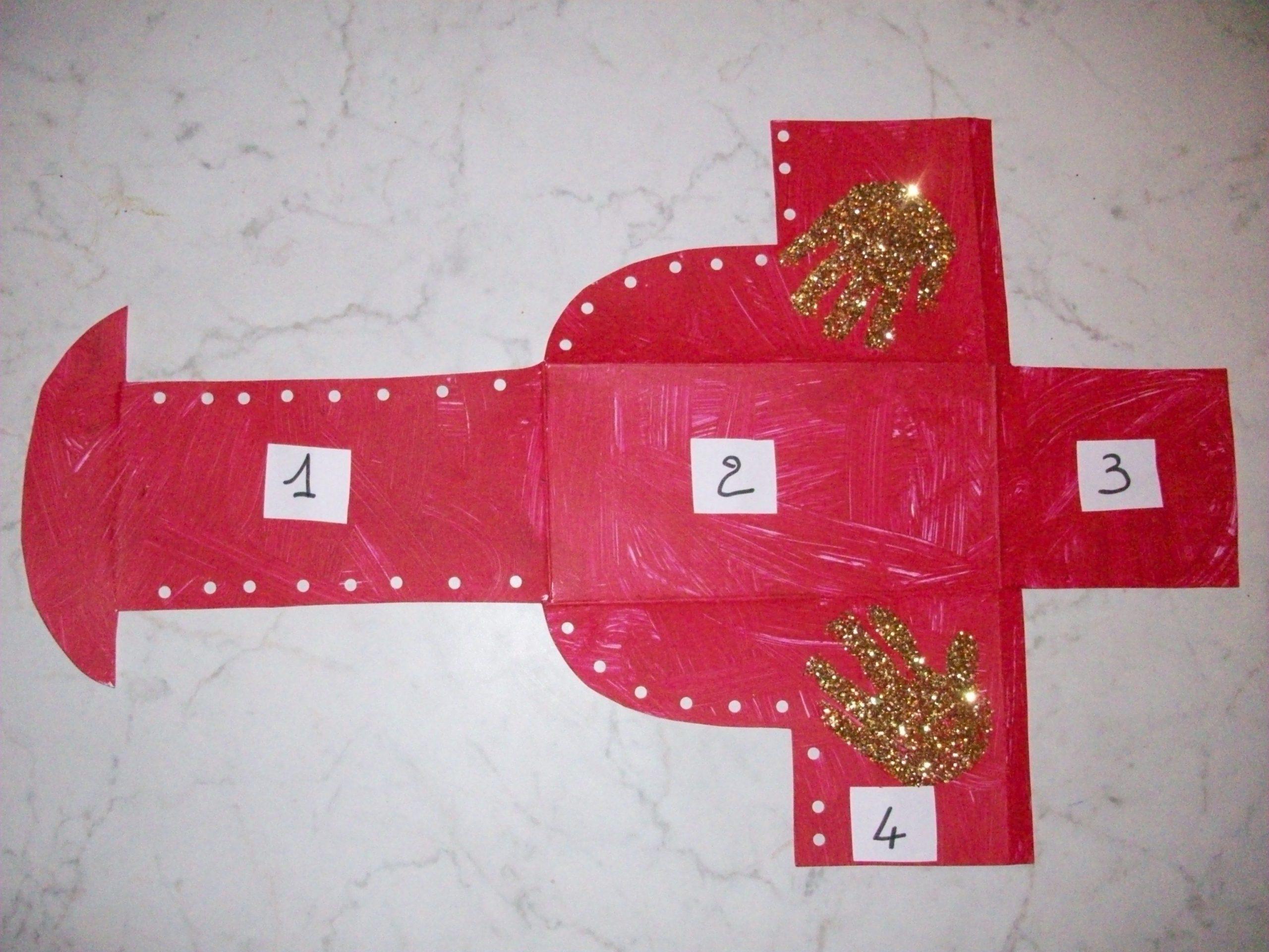 Botte Du Père Noël En 3D (Suite) avec Fabrication De Pere Noel