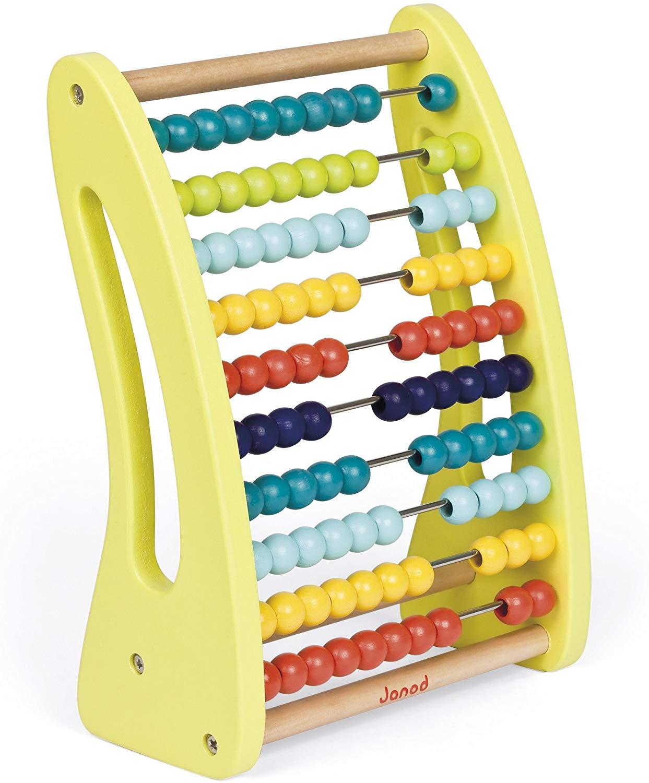 Boulier De Calcul Abacus - Janod encequiconcerne Jeux Educatif Grande Section
