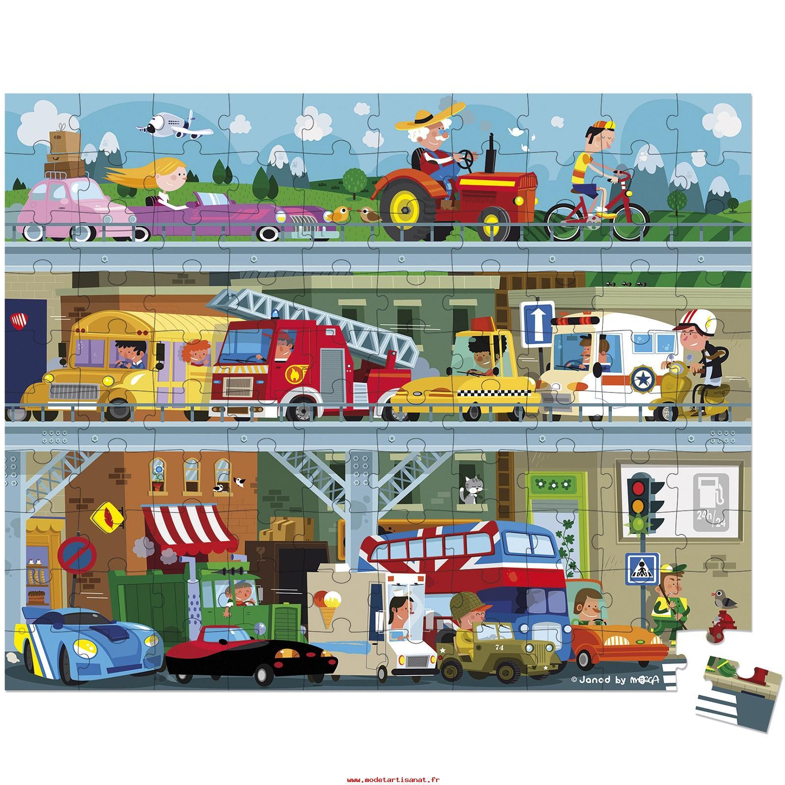 Boutique En Ligne Janod Enfants Puzzle 100 Pièces Carton à Puzzle Enfant En Ligne