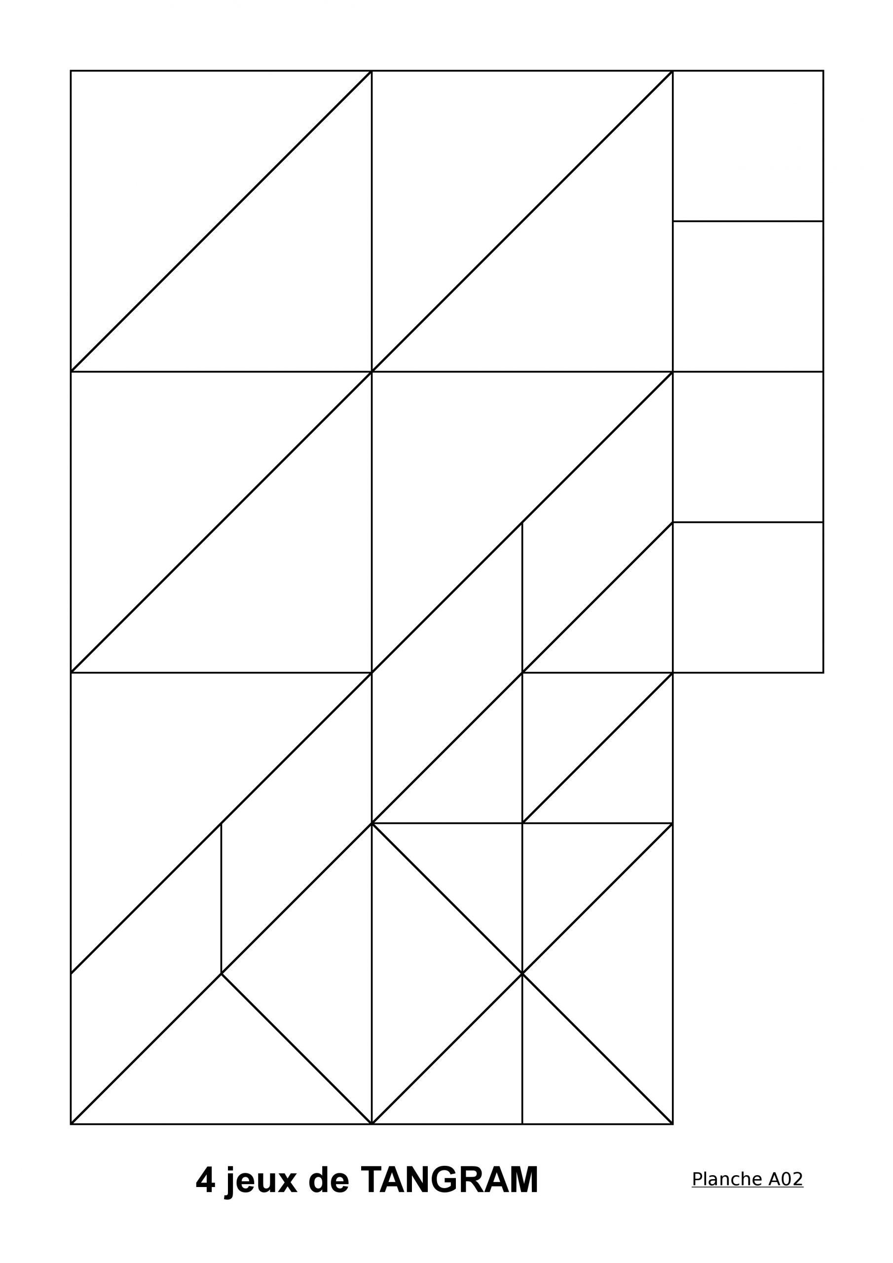 Boutisses concernant Modèle Tangram À Imprimer