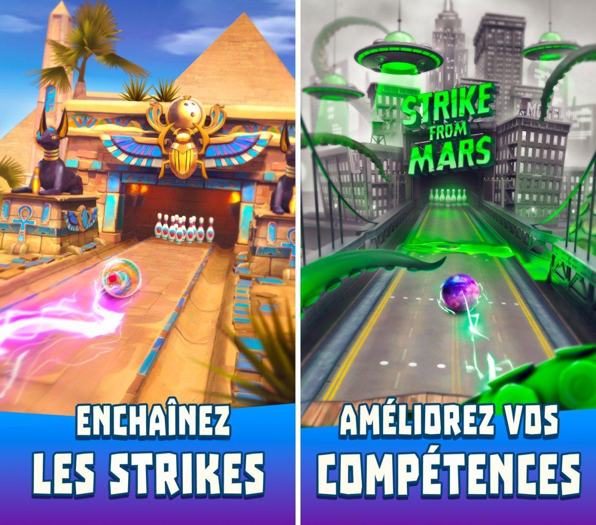 Bowling Crew : Du Bowling Déjanté En Ligne Sur L'app Store destiné Jeux Gratuits De Bowling