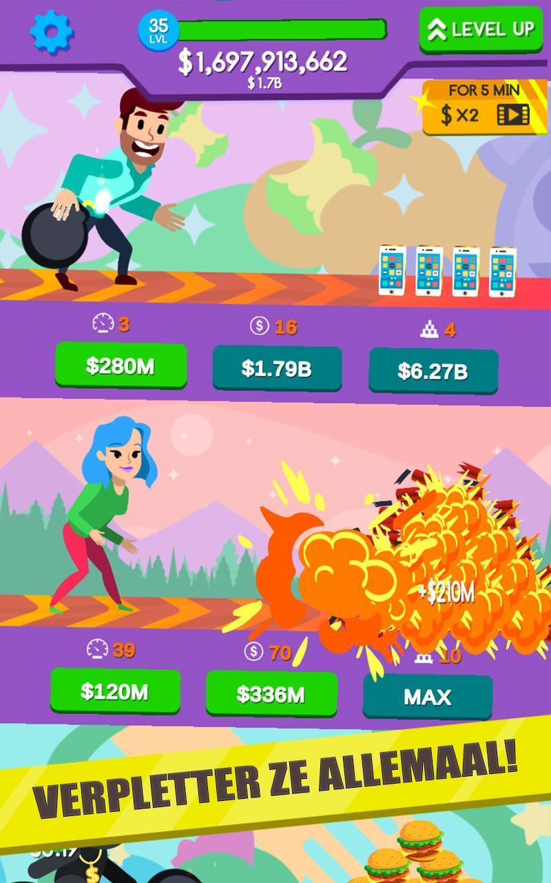 Bowling Idle Pour Android - Téléchargez L'apk pour Jeux Gratuits De Bowling