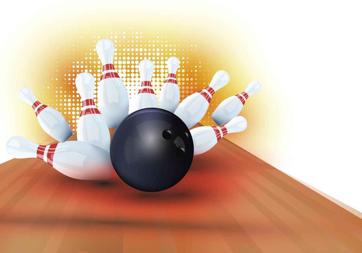 Bowling Vectoriel Gratuit - (1,889 Téléchargements Gratuits) concernant Jeux Gratuits De Bowling