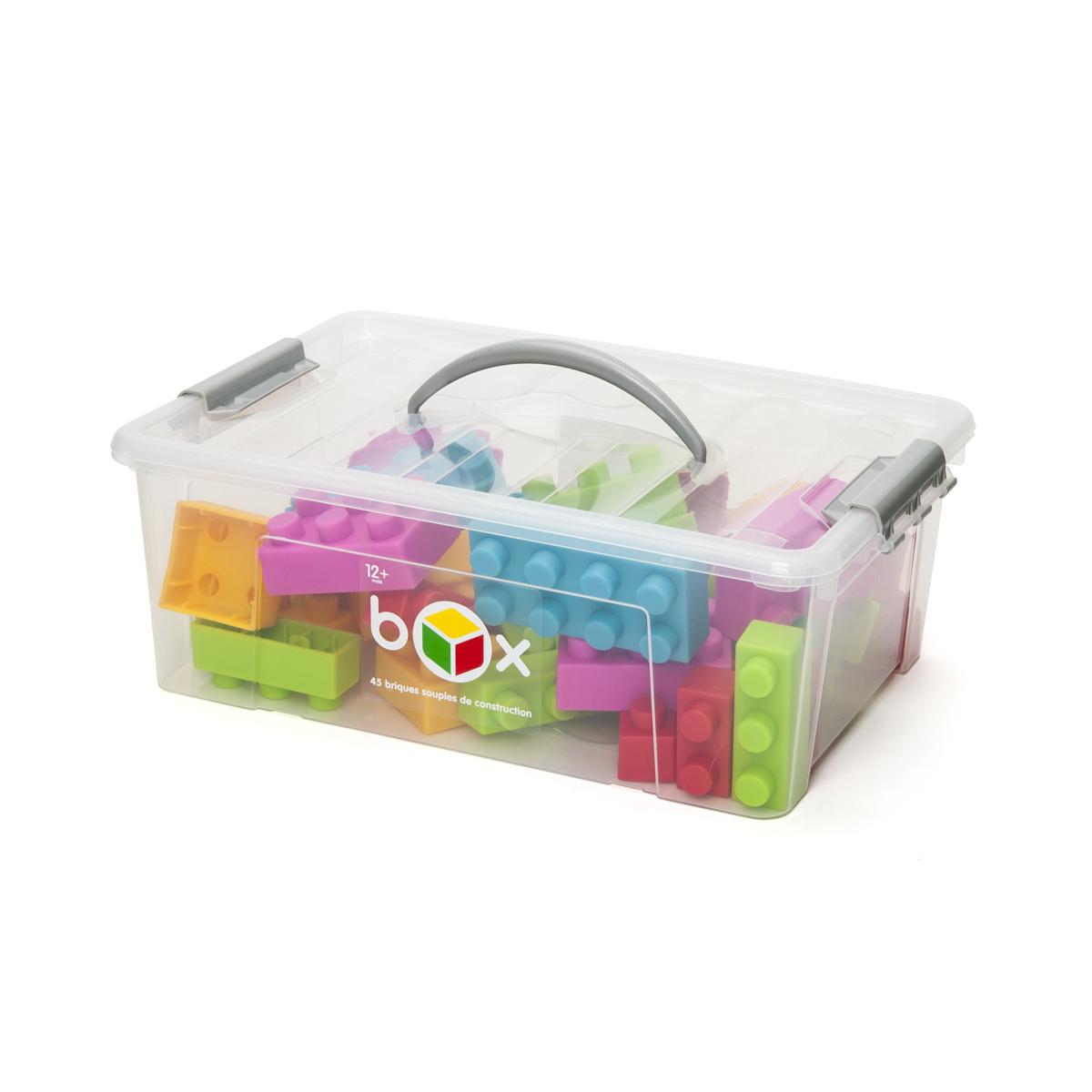 Box 45 Briques Souples À Construire pour Casse Brique Enfant