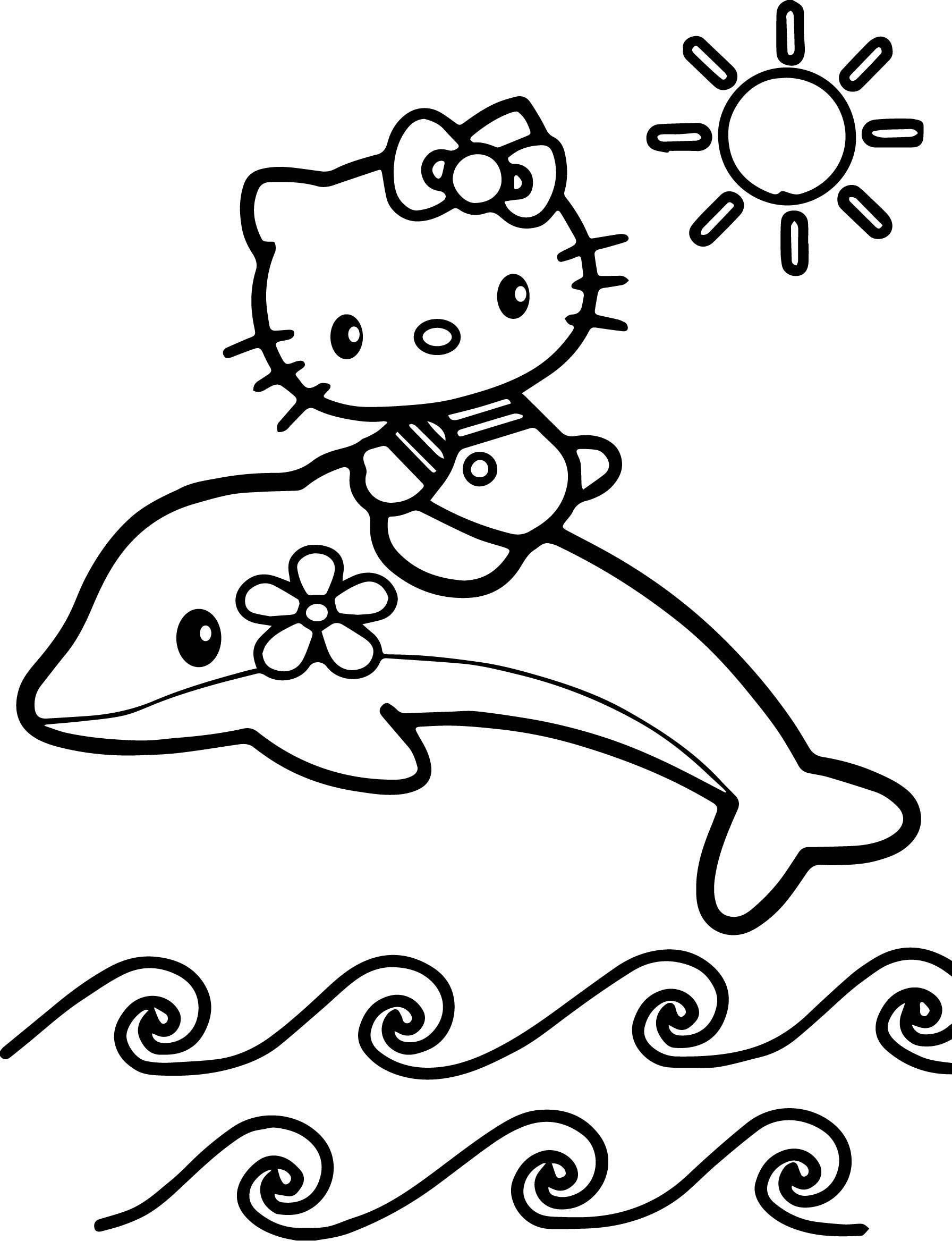 Boyama Kitaby Hello Kitty Boyama - Resim Çizmek dedans Hello Kitty À Dessiner