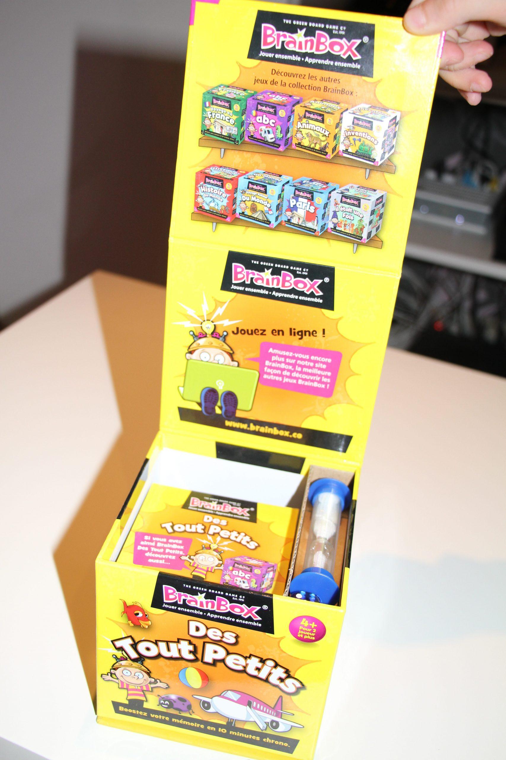 Brain Box Des Tout Petits Asmodée ⋆ Maman Jusqu'au Bout Des destiné Jeux Tout Petit