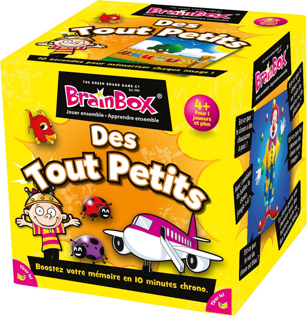 Brainbox Des Tout-Petits - Jeux De Société Et Puzzles - La destiné Jeux Tout Petit