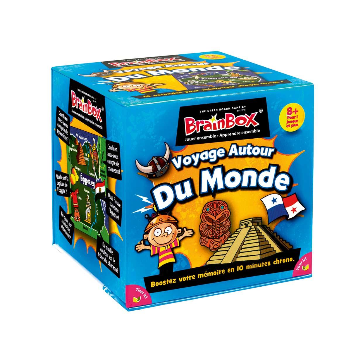 Brainbox Voyage Autour Du Monde à Jeux De Memoire Enfant