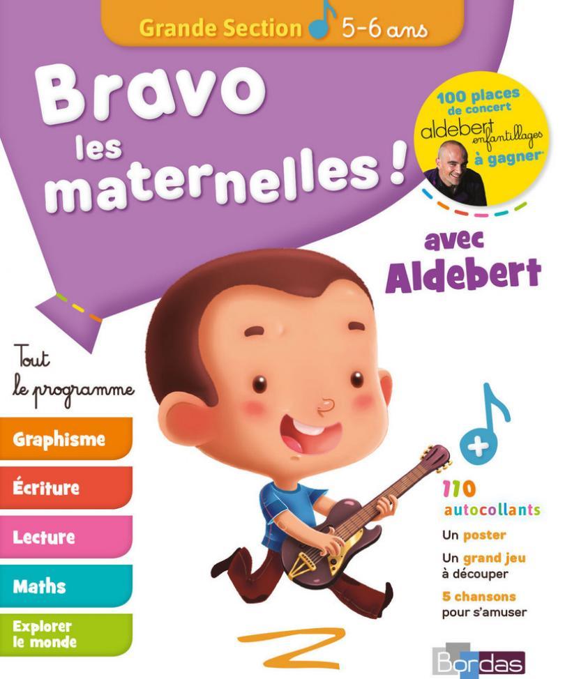 Bravo Les Maternelles ! - Grande Section (Gs) - Tout Le pour Cahier D Activité Maternelle