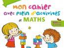 Bravo Les Maternelles - Mon Cahier Avec Plein D'activités De intérieur Cahier De Vacances Maternelle À Imprimer