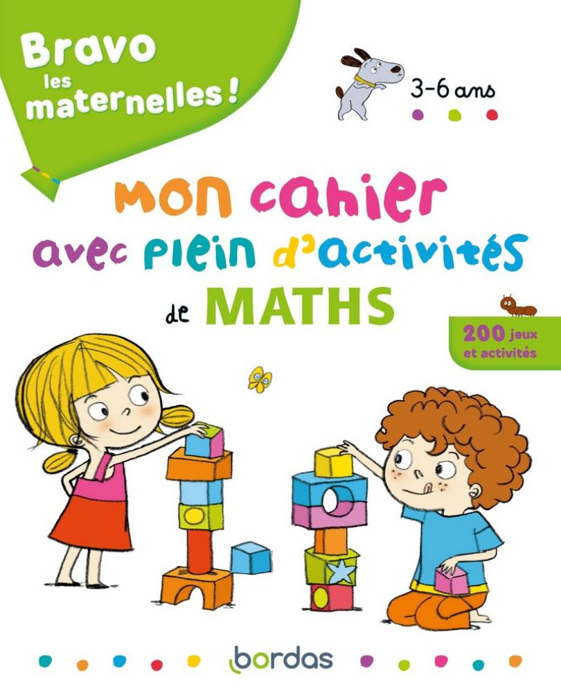 Bravo Les Maternelles - Mon Cahier Avec Plein D'activités De pour Cahier D Activité Maternelle