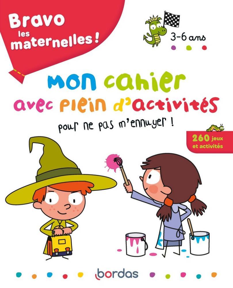 Bravo Les Maternelles - Mon Cahier Avec Plein D'activités tout Cahier D Activité Maternelle