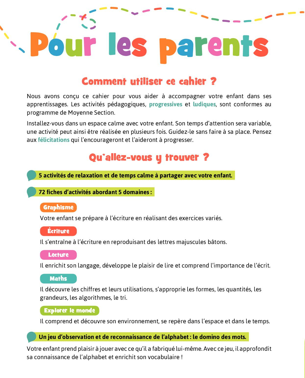 Bravo Les Maternelles Moyenne Section - Calameo encequiconcerne Moyen Section Maternelle Exercice