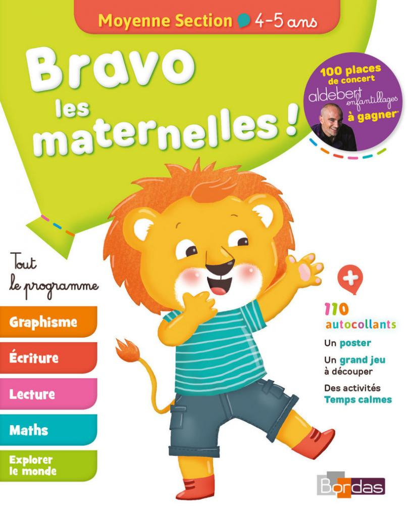 Bravo Les Maternelles ! - Moyenne Section (Ms) -Tout Le à Jeux Educatif Maternelle Moyenne Section