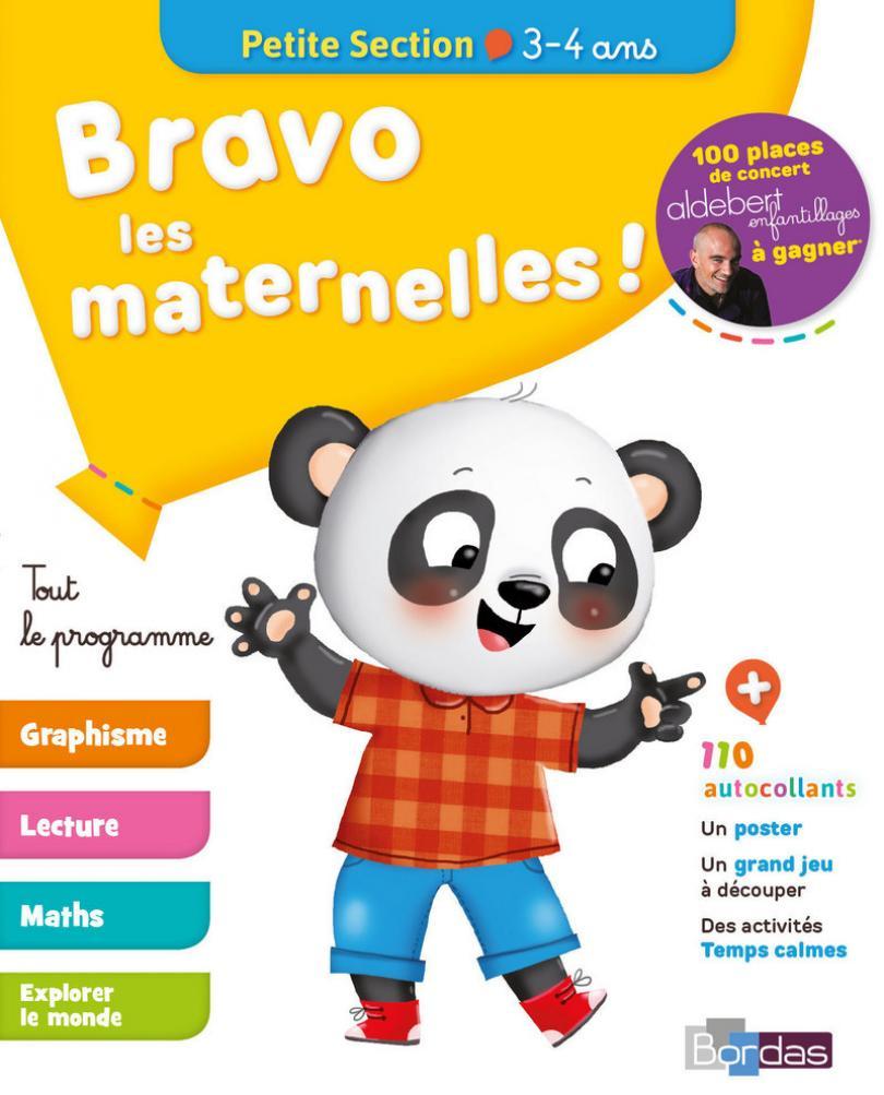 Bravo Les Maternelles ! - Petite Section (Ps) - Tout Le à Exercice Maternelle Petite Section