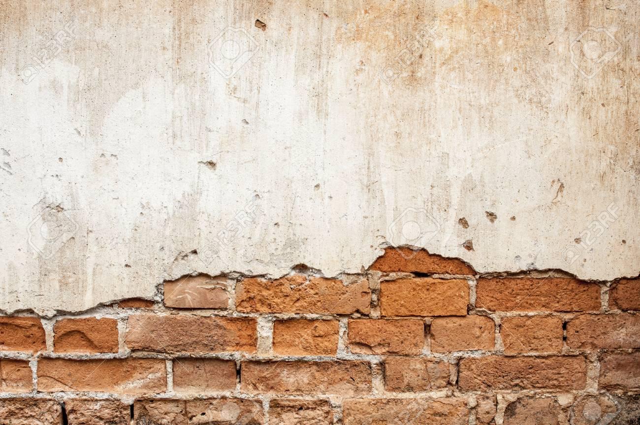Brick Wall Broken In Background Royalty Free Stok Fotoğraf pour Casse Brick
