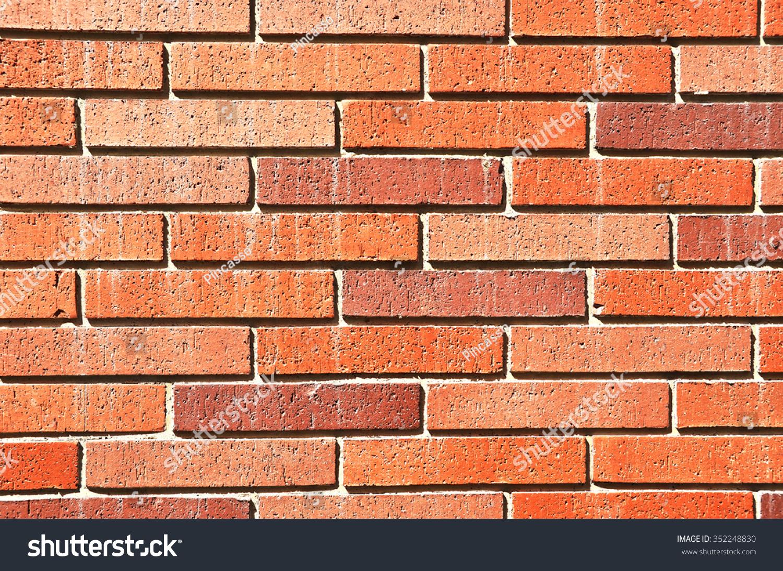 Brick Wall Stock Photo (Edit Now) 352248830 intérieur Casse Brick