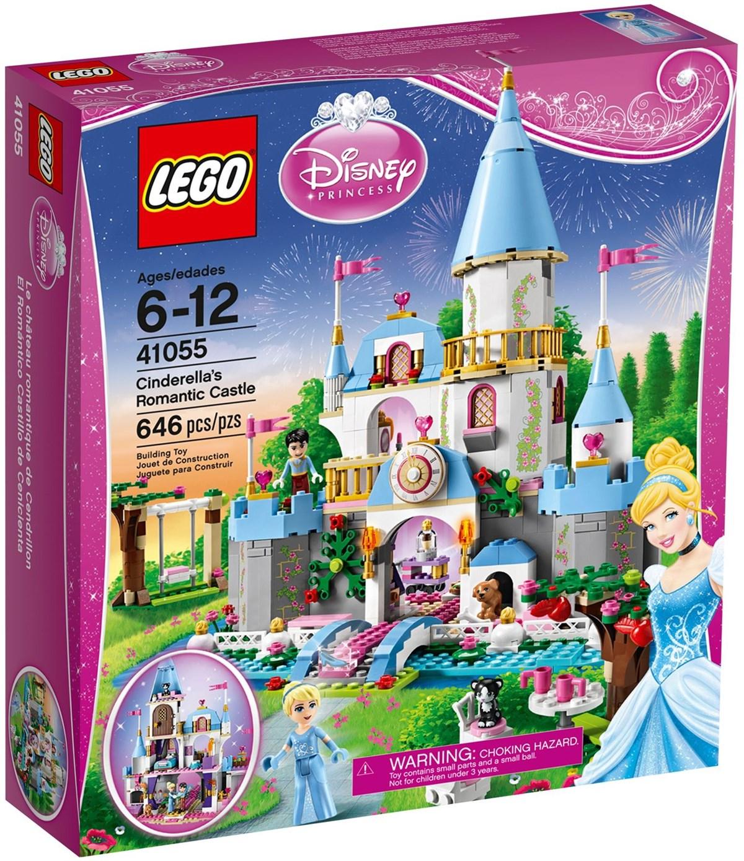 Brick7 - Lego Disney Princess 41055 Cinderella's Romantic encequiconcerne Cendrillon 3 Disney