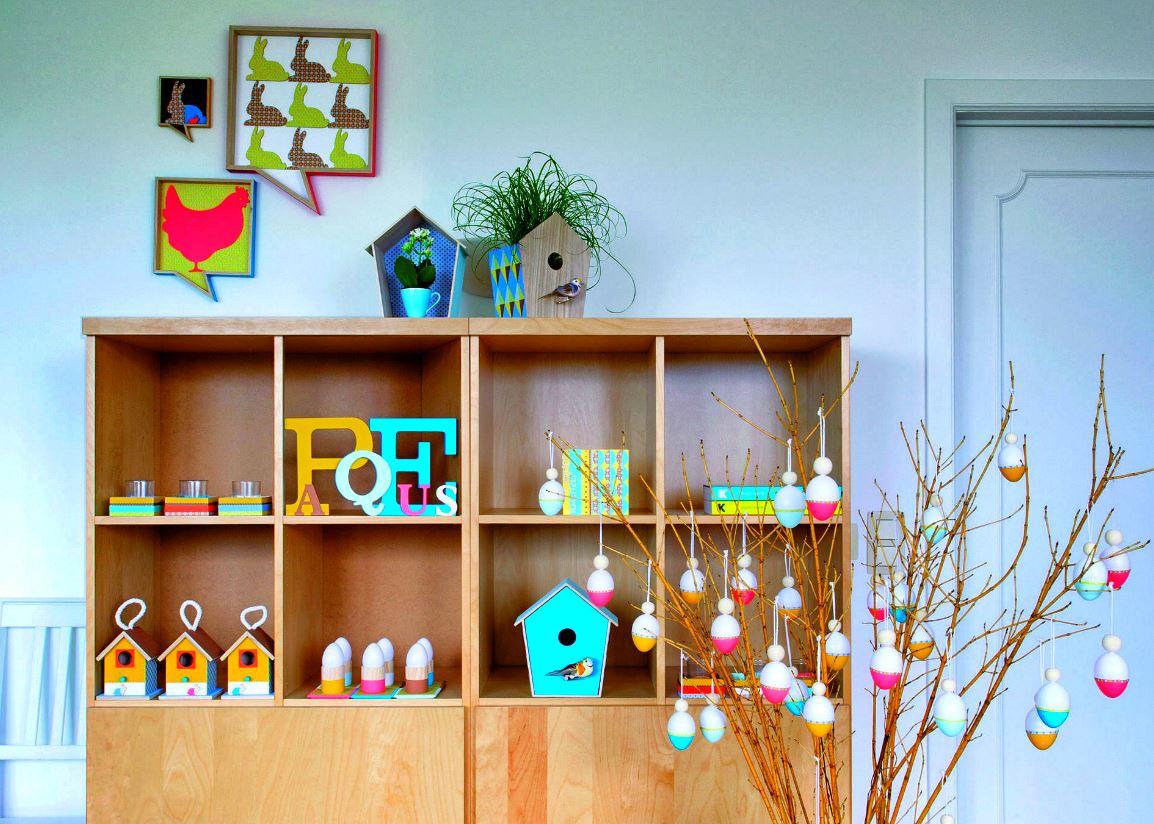 Bricolage De Pâques : 42 Idées Déco À Fabriquer Soi-Même destiné Travaux Manuels Simples A Realiser