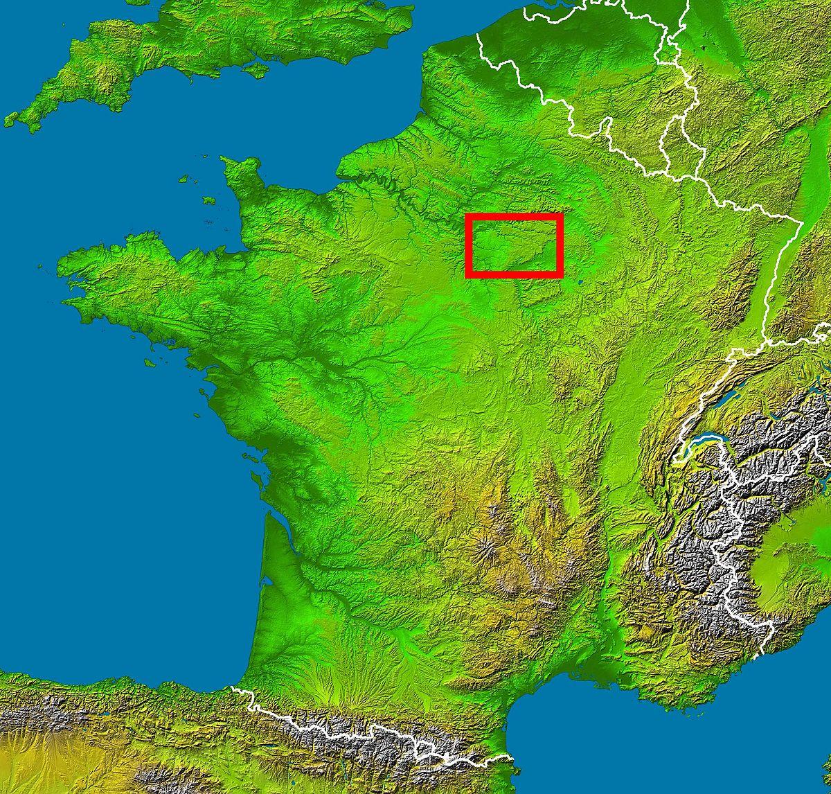 Brie (Region) - Wikipedia destiné Carte De Region France