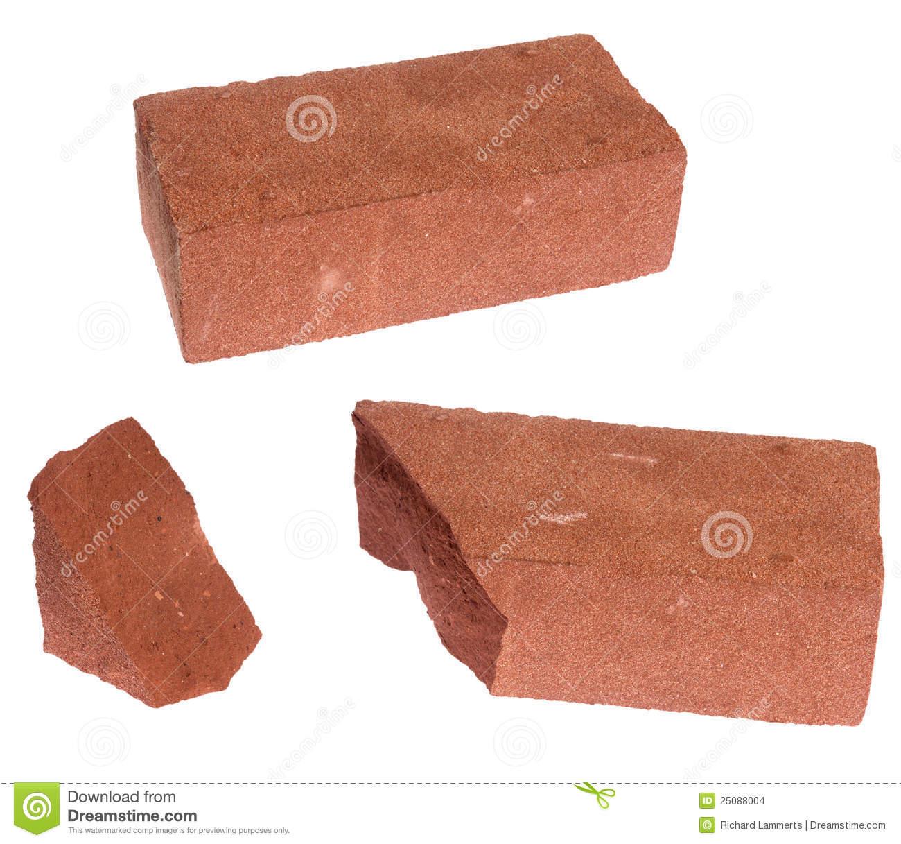 Brique (Cassée) Photo Stock. Image Du Matériau, Construction serapportantà Casse Brick