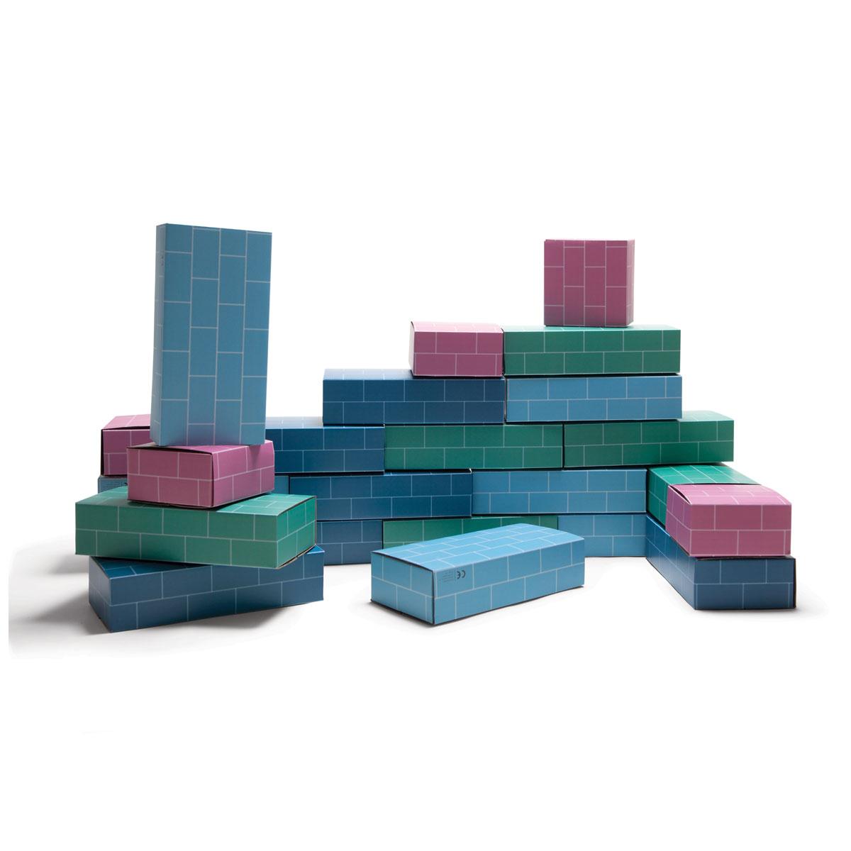 Briques Géantes En Carton intérieur Casse Brique Enfant