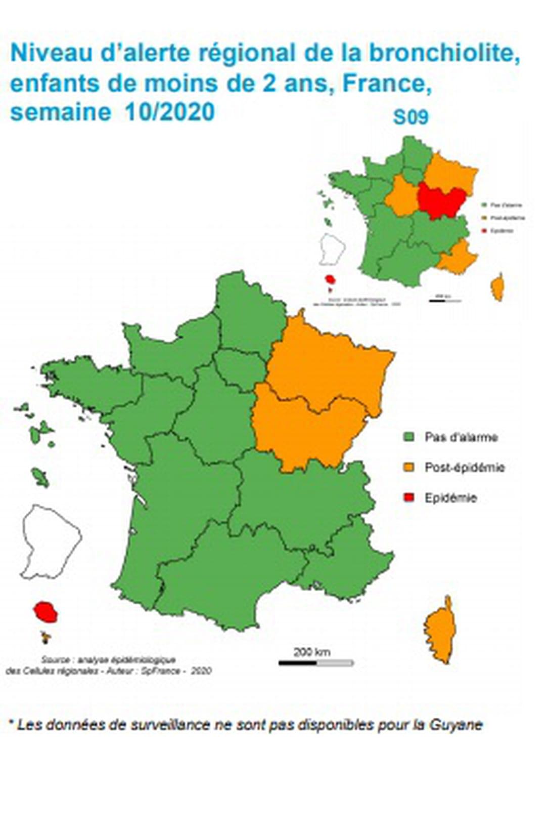 Bronchiolite : Symptômes Chez Le Bébé Et Le Nourrisson tout Carte De France Pour Les Enfants