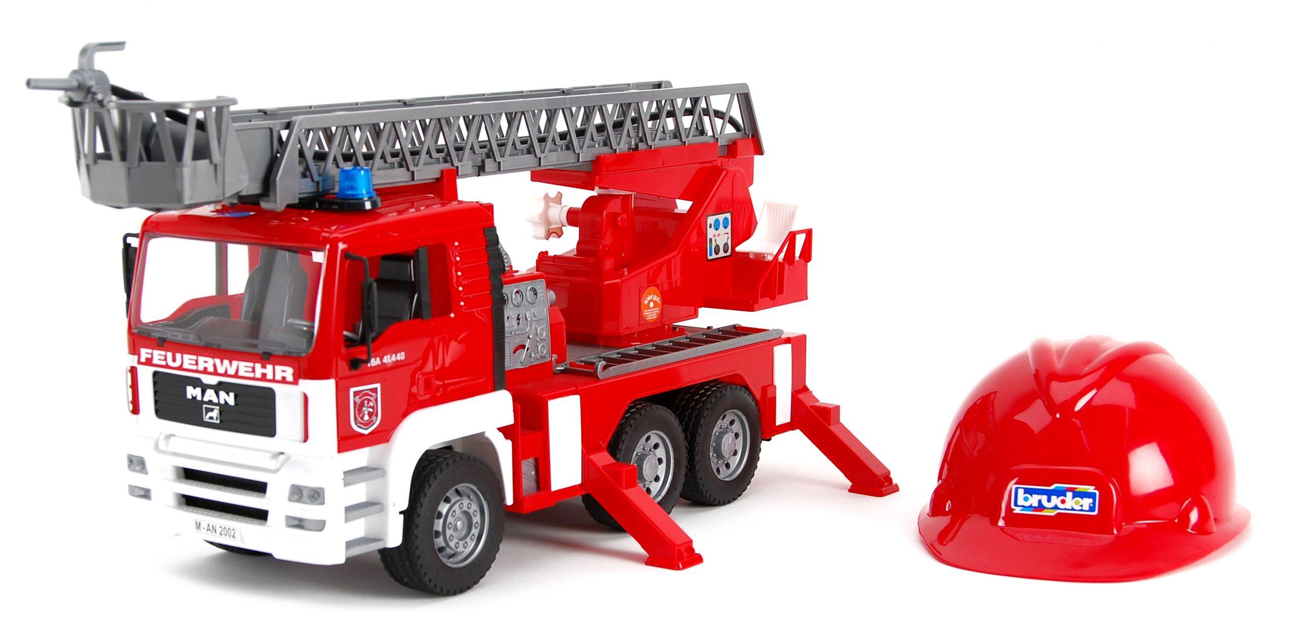Bruder - Camion De Pompiers Avec Module Électronique Et dedans Jeux De Camion De Pompier Gratuit
