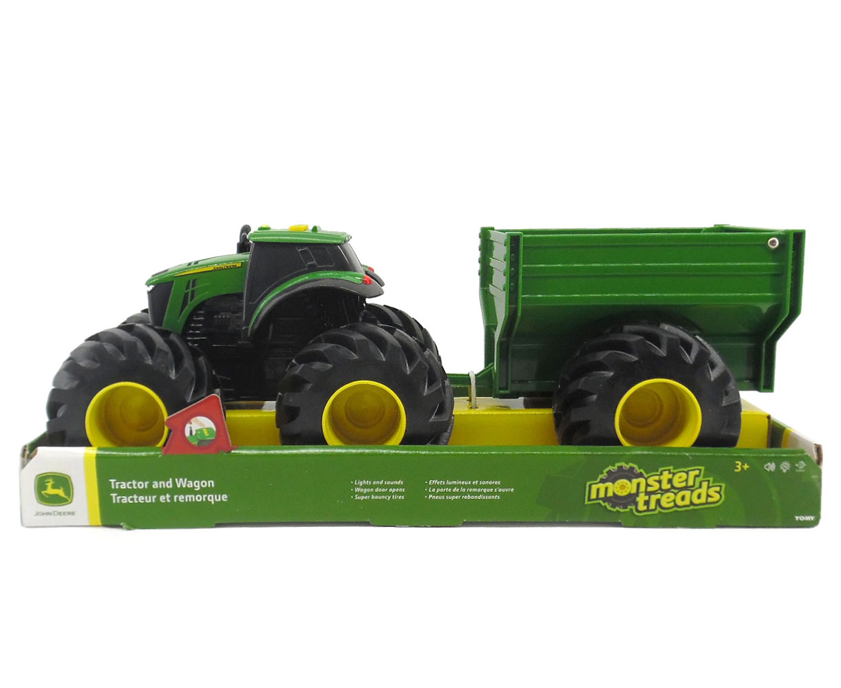 Buy John Deere - Tracteur À Gros Pneus Monster Treads John Deere For Cad  29.99 | Toys R Us Canada tout Dessin Animé De Tracteur John Deere