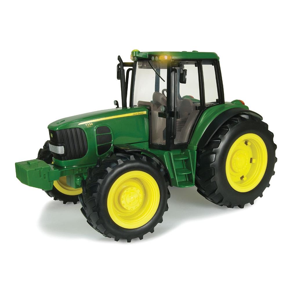 Buy John Deere - Tracteur Sons Et Lumières Big Farm 7330, Réplique À Une  Échelle De 1:16. For Cad 18.67 | Toys R Us Canada à Dessin Animé De Tracteur John Deere