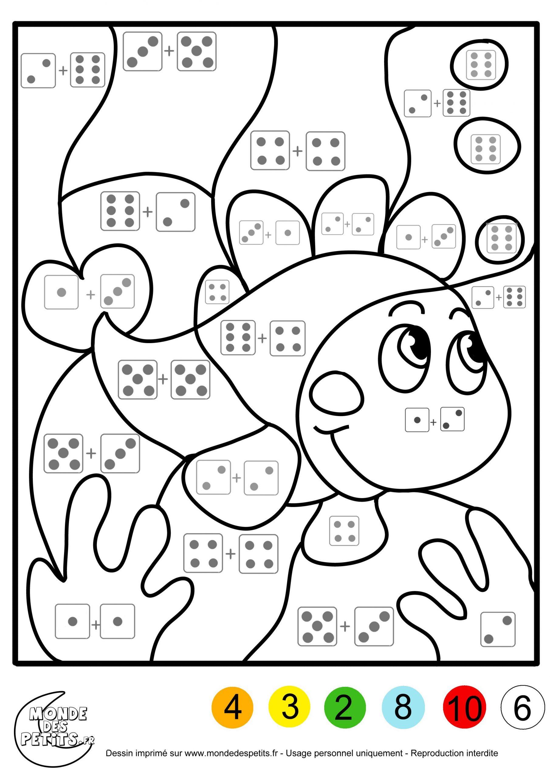 Buzz2000 Coloriage À Imprimer | Kindergarten Math avec Coloriage Codé Gs