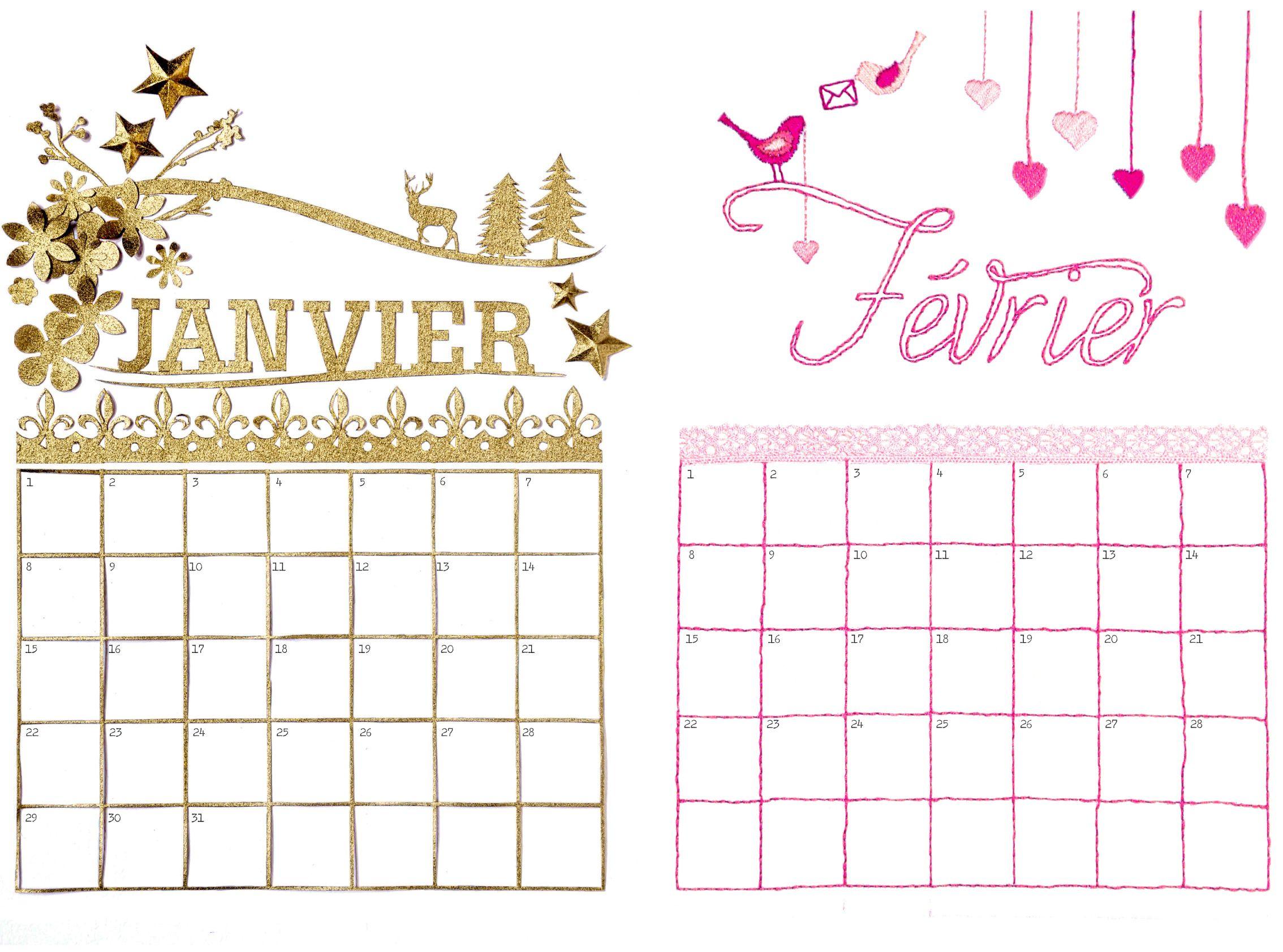 Cadeau : Les Calendriers Perpétuels De Prima | Calendrier pour Calendrier Des Anniversaires À Imprimer Gratuit