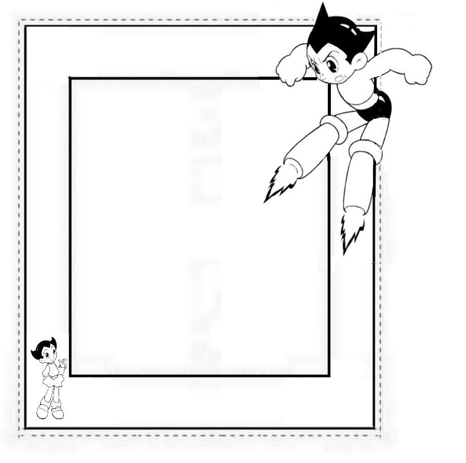 Cadre De Tableau Astro Boy Découpage A Imprimer intérieur Decoupage A Imprimer