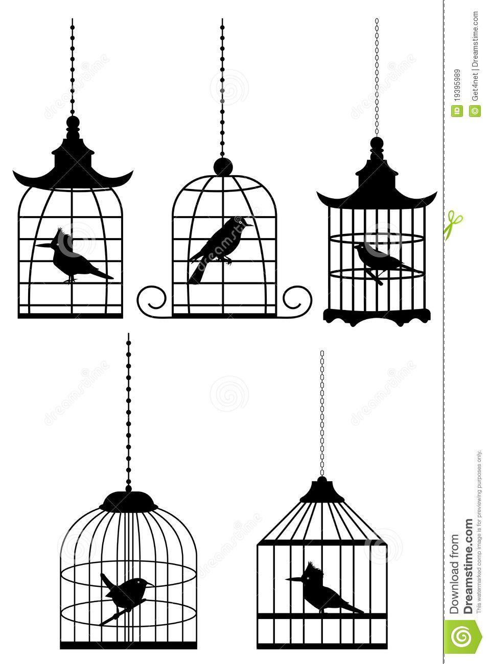 Cage À Oiseaux Coloriage - Recherche Google concernant Dessin De Cage D Oiseau