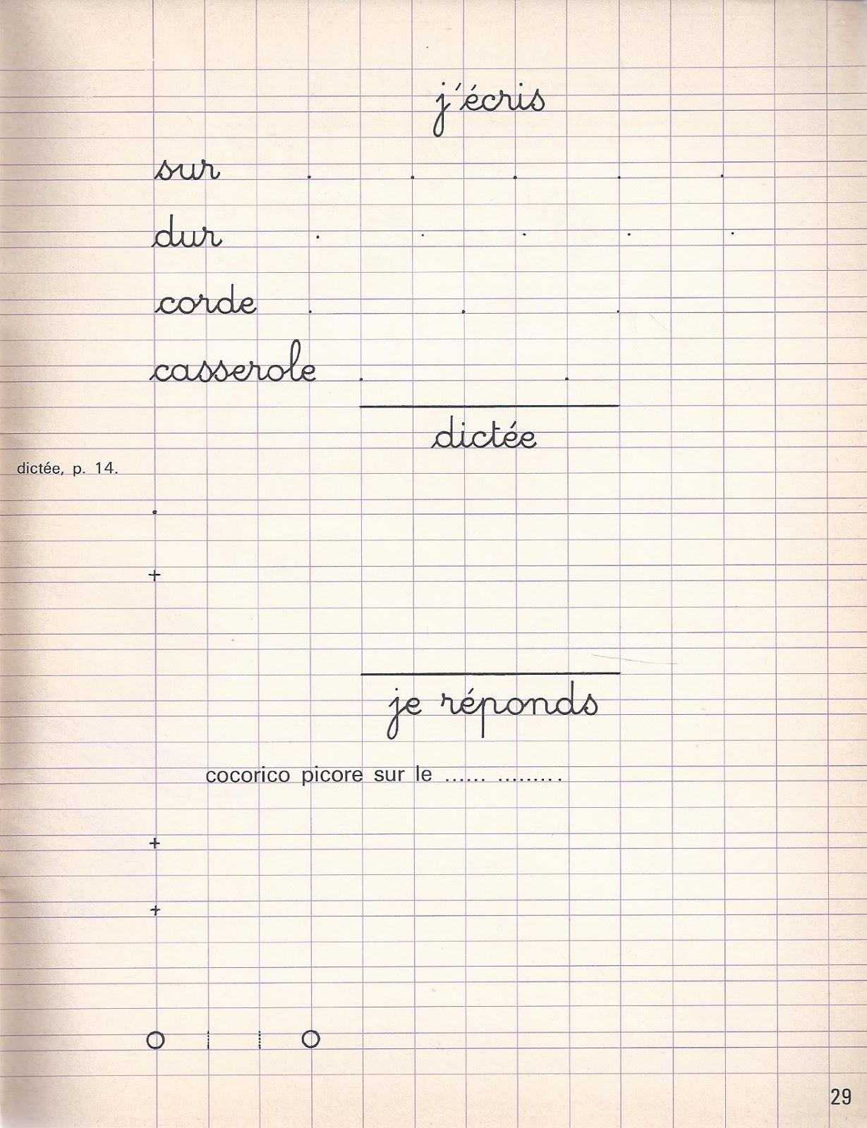 Cahier D Écriture Pdf Mon Cahier De Lecture Et D'écriture 5E à Cahier De Vacances Maternelle Pdf