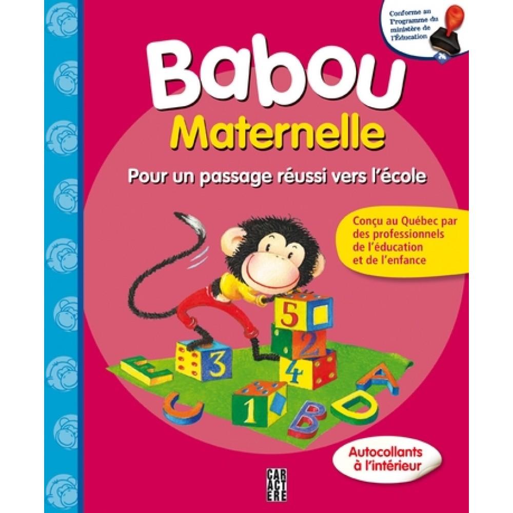 Cahier D'activités - Babou - Maternelle De Les Éditions à Cahier D Activité Maternelle
