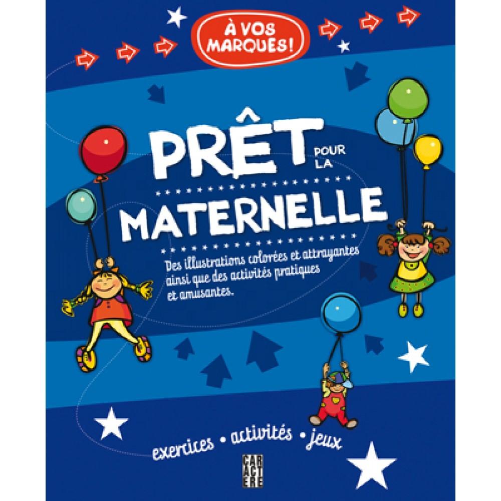 Cahier D'activités - Prêt Pour La Maternelle De Les Éditions à Cahier D Activité Maternelle