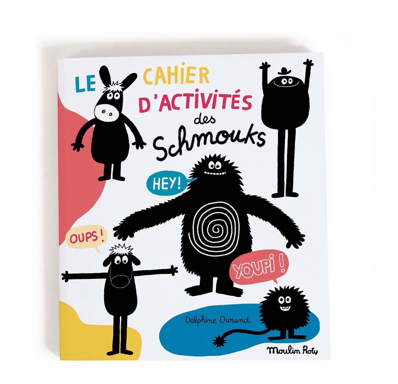 Cahier De Coloriage Et D'activités, Les Schmouks, Moulin Roty destiné Cahier D Activité Maternelle
