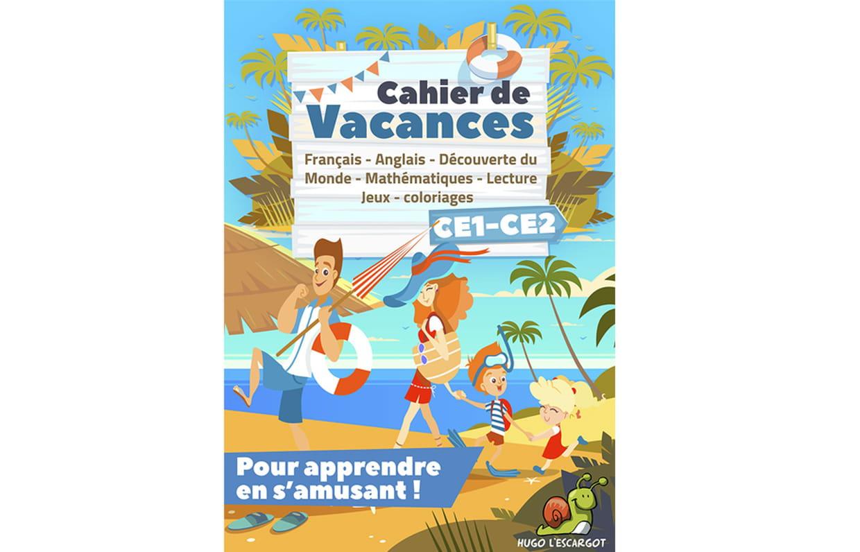 Cahier De Vacances Ce1-Ce2 serapportantà Carnet De Vacances À Imprimer