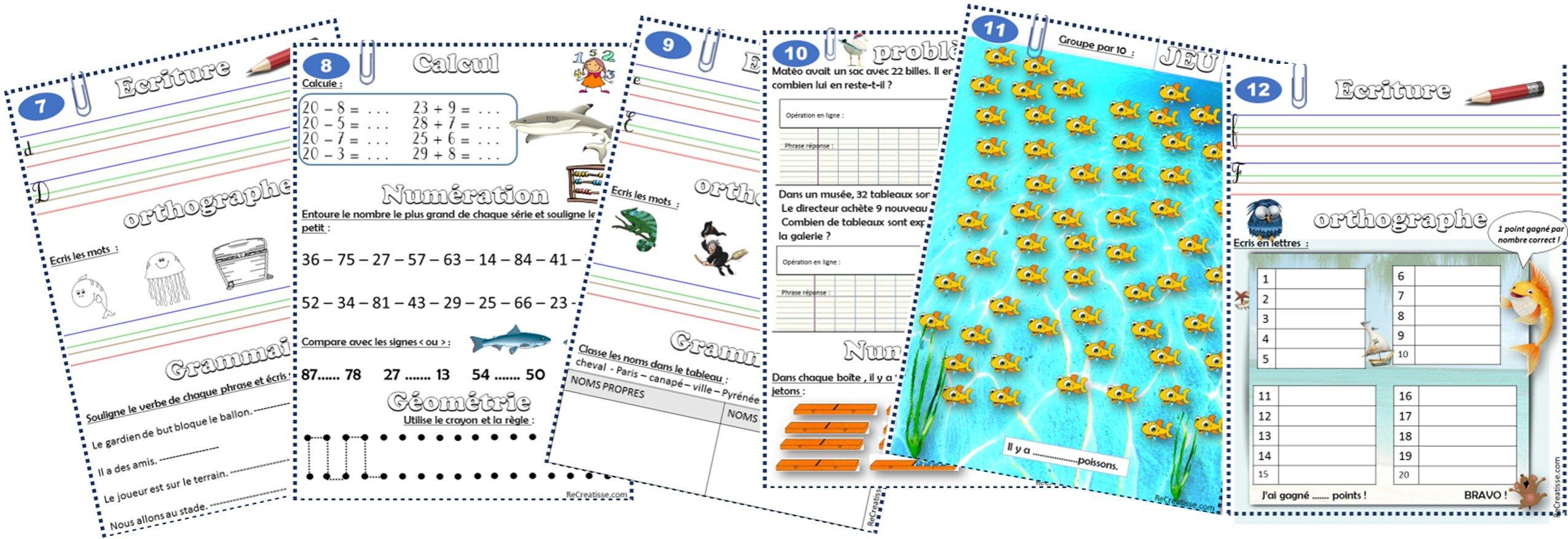 Cahier De Vacances • Recreatisse serapportantà Cahier De Vacances Maternelle À Imprimer