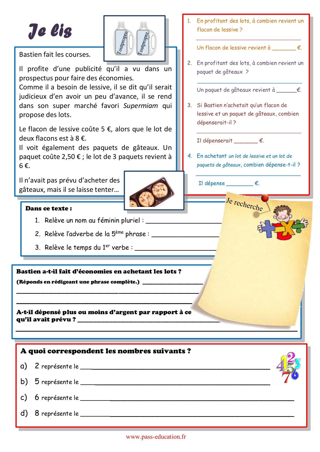 Cahier De Vacances Gratuit À Imprimer - Cm1 Vers Le Cm2 pour Cahier De Vacances Gratuit A Imprimer 6Eme 5Eme