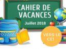 Cahier De Vacances Gratuit À Imprimer - Cp Vers Le Ce1 avec Cours Ce1 Gratuit A Imprimer
